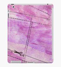 purple painted texture iPad Case/Skin