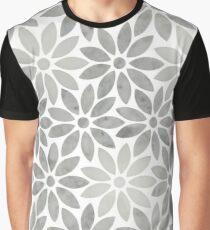 Rose marble flower Graphic T-Shirt