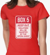Box 5: Keep Out Womens Fitted T-Shirt