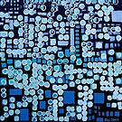 :: Blue Noise :: by Gale Storm Artworks