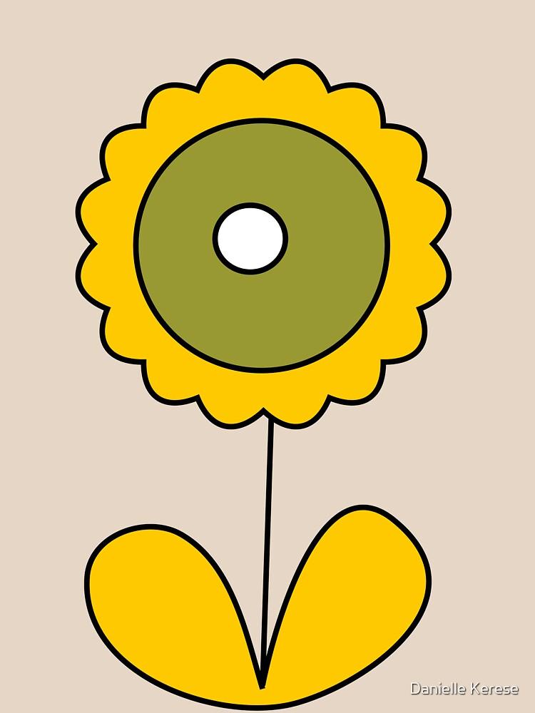 sixties flower by Retroversity