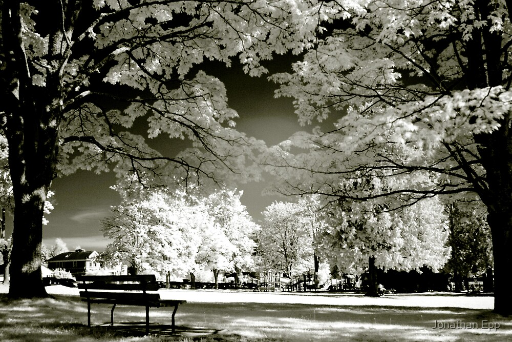 Infrared Park by Jonathan Epp