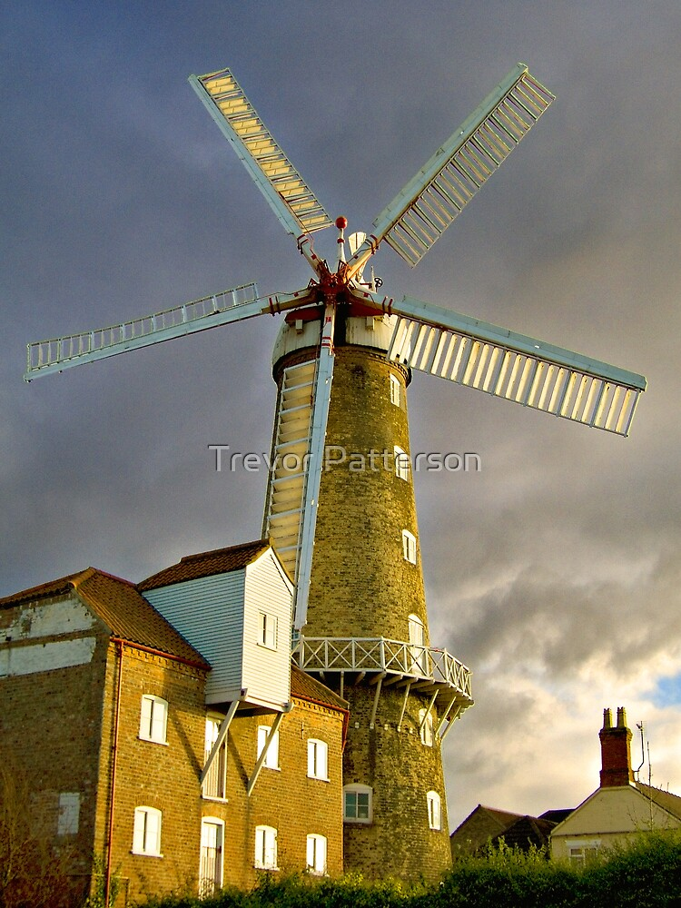 Maud Foster Windmill I (Boston) by Trevor Patterson