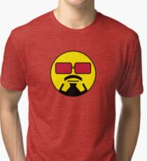 Robert Downey Jr Smiley Tri-blend T-Shirt
