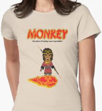 Monkey Magic  - Variant Five Women's Fitted T-Shirt
