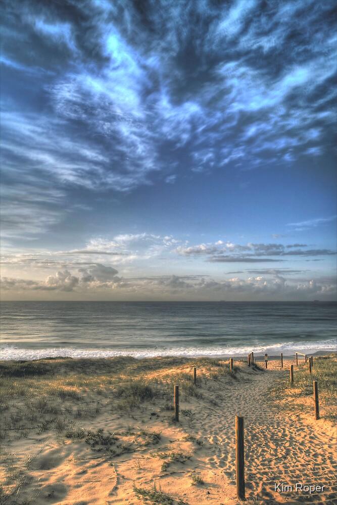 Magenta Shores  by Kim Roper