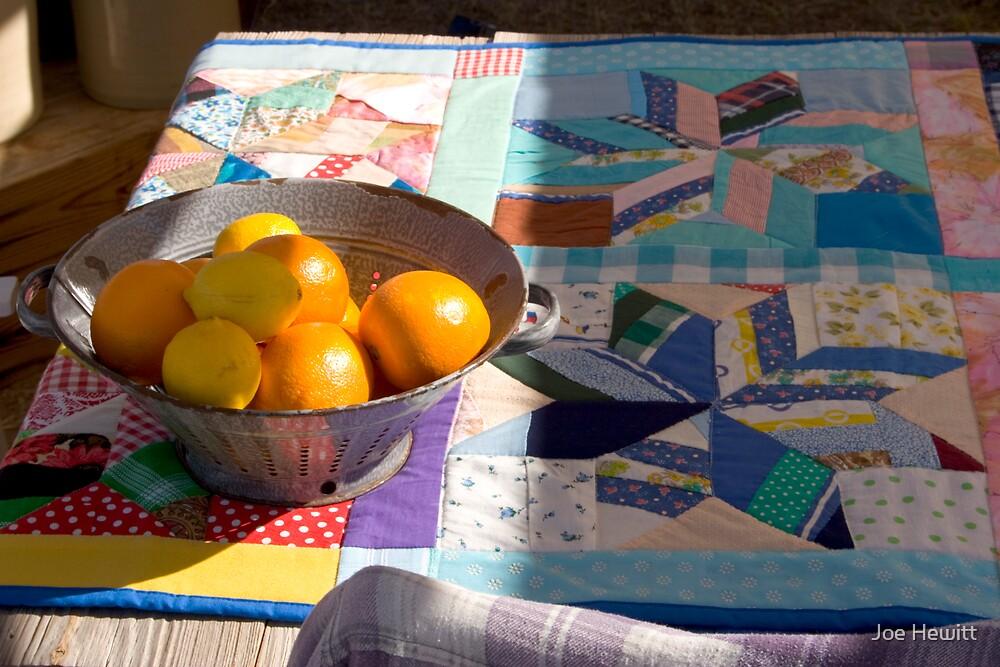 Blanket and Fruit by Joe Hewitt