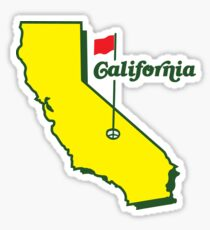 California Golf Sticker