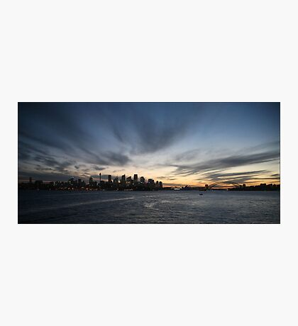 Sydney Sunset Photographic Print