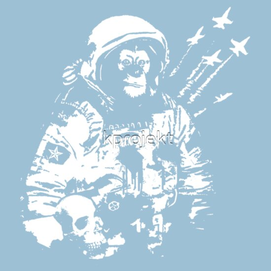TShirtGifter presents: Space Chimp