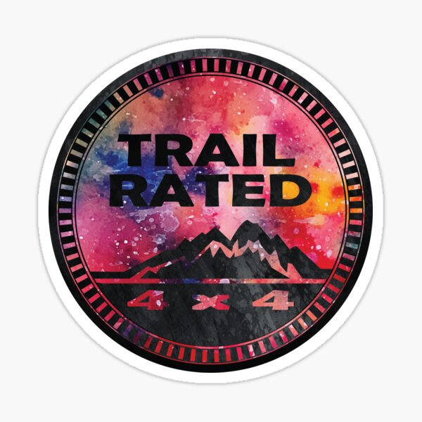 Trail Rated Jeepster Sticker