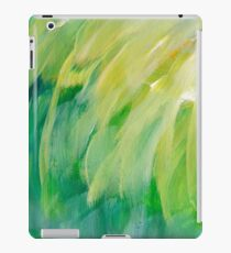 green painted texture iPad Case/Skin