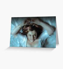 In Her Eyes Greeting Card