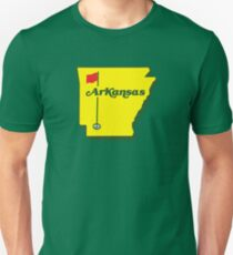 Golf Arkansas Unisex T-Shirt