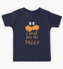 lorax speak Kids Tee