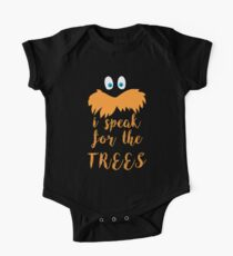 lorax speak One Piece - Short Sleeve