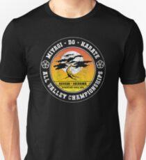 Karate Kid - Herr Miyagi Do Black Distressed Variante Unisex T-Shirt
