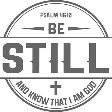 Be still by busyokoy