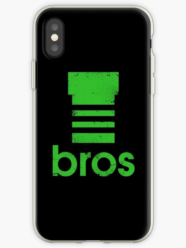 sale retailer a52b2 d51e3 'Super Mario Bros green pipe Adidas logo' iPhone Case by theodores012