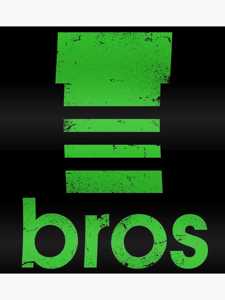 Mario Bros Adidas Tuyau Super Vert LogoPoster 9EH2ID