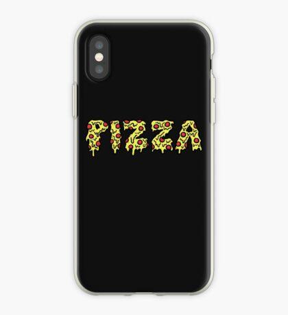 pizza en palabras Vinilo o funda para iPhone