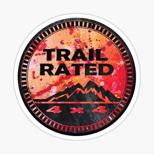 Trail Rated Jeepster II Sticker