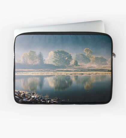 Trees By The Roadside Laptop Sleeve