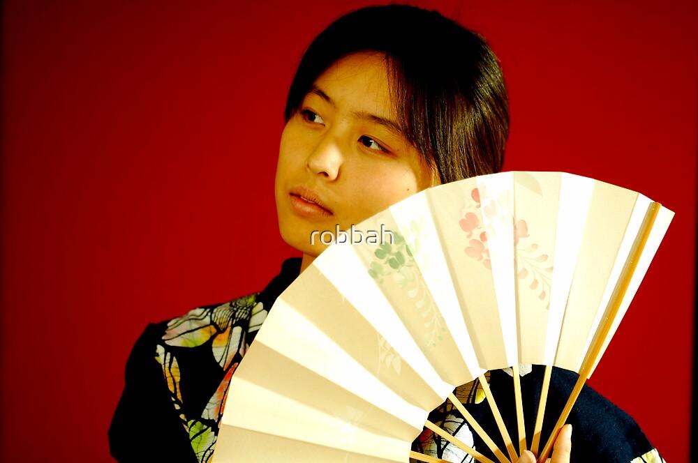 Japanese girl by robbah