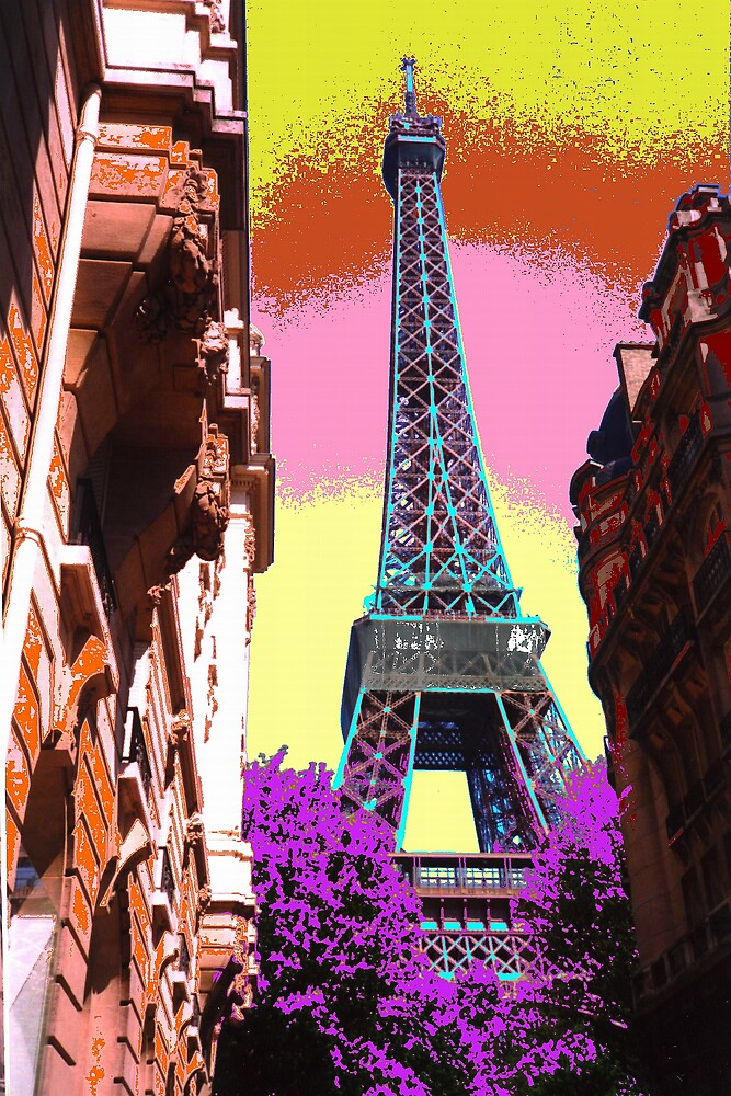 Eiffel Tower - April 2003 by Paul Kiesskalt