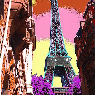 Eiffel Tower - April 2003 by PaulK