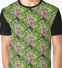 Barred Owl Graphic T-Shirt