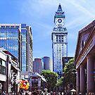 Boston MA - Quincy Market by Susan Savad