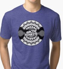 Arctic Monkeys | Mandala Circle Print T-Shirt Tri-blend T-Shirt