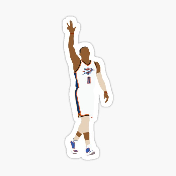 Russell Westbrook MVP Sticker