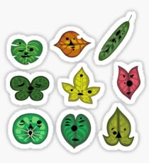 Korok Faces Sticker