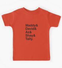 MADDY & DAVID & AZ & SHAY & TALLY Kids Tee