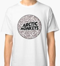Arctic Monkeys | Flower Circle Logo [black] Classic T-Shirt