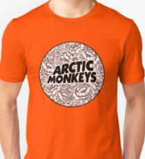 Arctic Monkeys | Flower Circle Logo [black] Unisex T-Shirt
