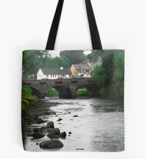 The village of Ramelton, Donegal, Ireland Tote Bag