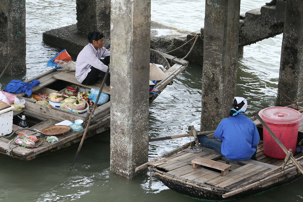 Floating market by Gregorio1