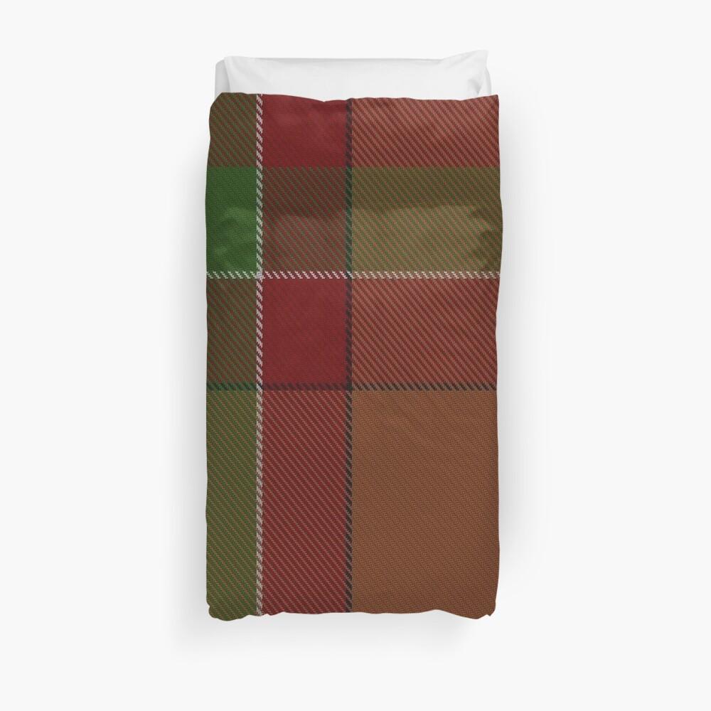 McBrayer Clan/Family Tartan  Duvet Cover