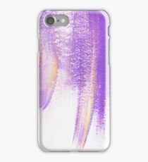 purple painted texture iPhone Case/Skin