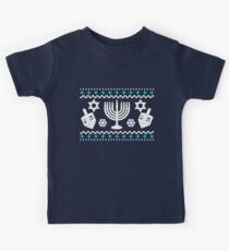 Funny Hanukkah Ugly Holiday Sweater Kids Clothes