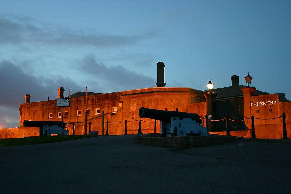 Fort Scratchley by Troy Mackaway