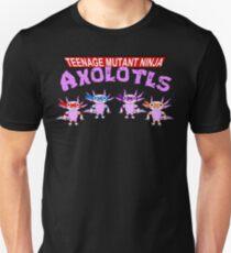 Teenage Mutant Ninja Axolotls Unisex T-Shirt