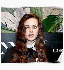 Celebrity: Katherine Langford Poster