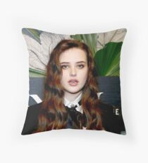 Celebrity: Katherine Langford Throw Pillow