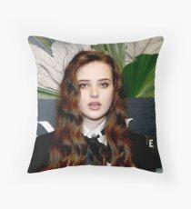 Celebrity: Katherine Langford Throw Pillow
