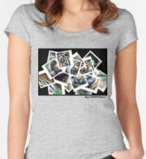 Photographs of Tigers Women's Fitted Scoop T-Shirt