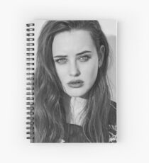 Celebrity: Katherine Langford Spiral Notebook